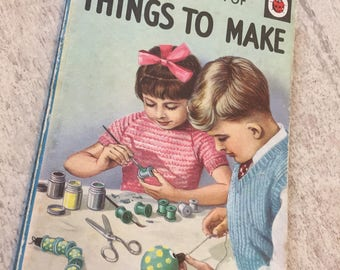 "Vintage ladybird book ""things to make"""
