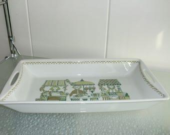 Serveerschaal Figgjo Flint Market ovenschaal  Turi Design Norway - Scandinavian Design Midcentury