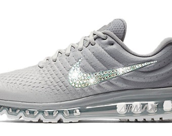 Swarovski Nike Shoes Women's Nike Air Max 2017 Crystal Rhinestones Bling Running Tennis Shoes Authentic New in Box