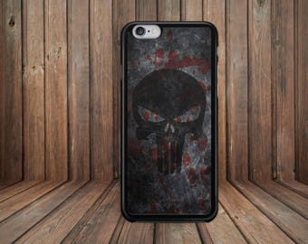 Punisher phone case for Apple iPhone & iTouch Devices. Marvel Comics Movie Themed