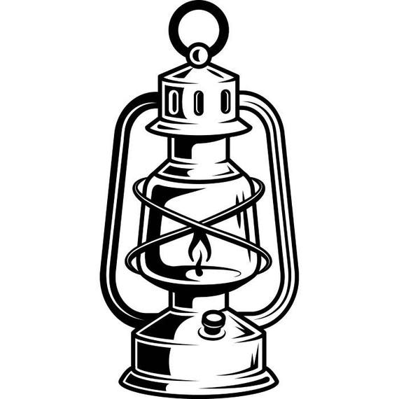 Lantern 2 Kerosene Lamp Light Fire Camping Hiking Hike Hiker Trail Mine Mining SVG EPS PNG Clipart Vector Cricut Cut Cutting Download From ExpertOutfit