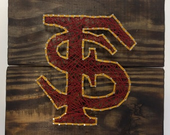 Florida State String Art