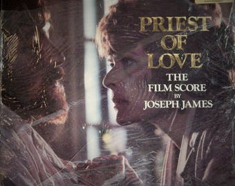 """Priest Of Love 12"""" Vinyl Lp Original Soundtrack Limited Issue British Import (1981 music Joseph James) Janet Suzman in DH Lawrence story"""
