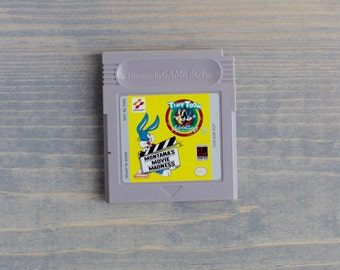 Gameboy Tiny Toons Adventures Game - WORKS