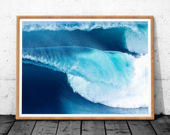 Ocean Waves, Ocean Print, Waves Print, Sea Print, Ocean Waves Art, Sea Waves Art, Ocean Wall Art, Ocean Photo, Sea Wave Printable, Waves Art
