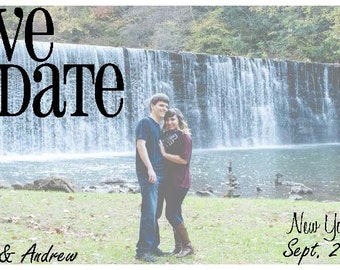 Custom Save the date- custom postcard- for any occasion- postcard- custom- design