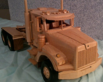 Truck - Hand crafted Wood Western Star Tractor...  Maple  PRICE REDUCED !!!