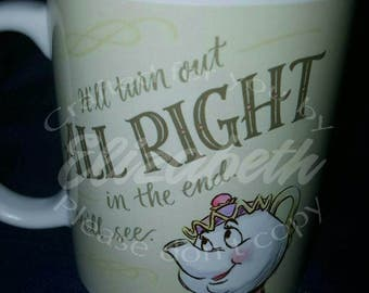 Mrs. Potts it will be alright mug