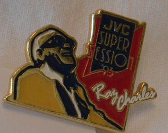 Ray Charles - JVC Super Session Badge