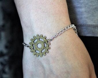 Heda/Commander Lexa Headpiece - The 100 Headpiece Bracelet - Chain