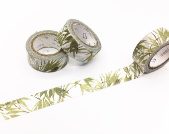 Bamboo Washi Tape - Season's Color Series