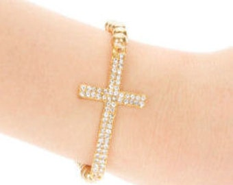 Cross and Love Bracelets