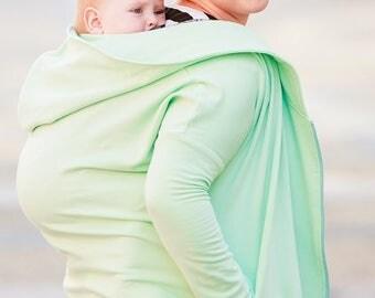 Babywearing Coat, 4 in 1, Hoodie, baby carrying coat.
