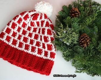 PATTERN Bee Happy Beanie *crochet
