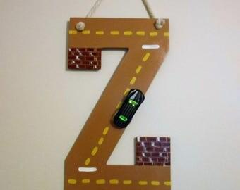 Alphabet Letter Road
