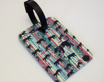 Luggage Tag featuring our Big Cat Print