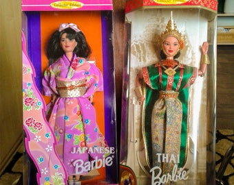 Barbie - Dolls of the World - Japanese and Thai