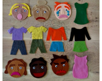 Emotions Play Felt Kit