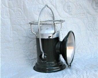 1950's French Lantern, industrial lamps, french lighting, minimalist decor, industrial decor, metal lanterns