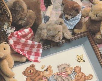 The Bear's Picnic, Cross Stitch
