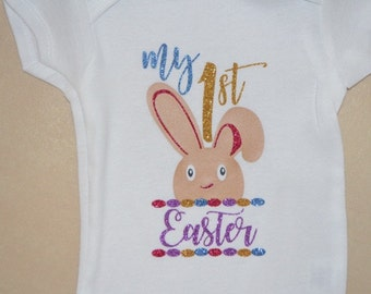 My First Easter Shirt, 1st Easter, Easter Bunny, Egg Hunting