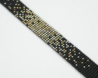 Matt shooting star | Bracelet 1, 5 cm