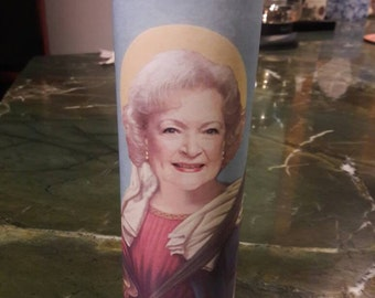 One Golden Girl Rose Nylund Betty White Prayer Candle