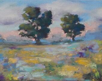 """Original Pastel Painting Mini """"Summer"""""""
