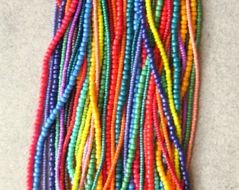 Bright colored necklace