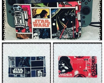 Star Wars - Darth Vader - Nintendo Switch- Dock Station Cozy - Protective Cover - Dock Cover - Nintendo Switch Cover - Comics Cover -