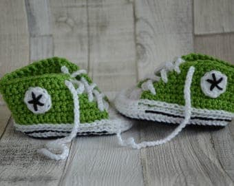 Baby Shoes Sneakers - Green