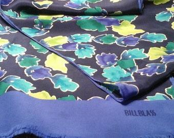 Bill blass silk, rayon, scarf