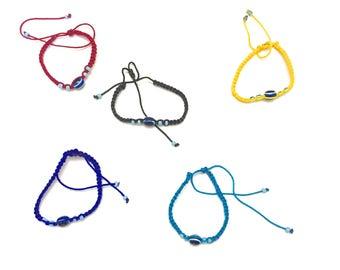 Evil Eye Rope Bracelet