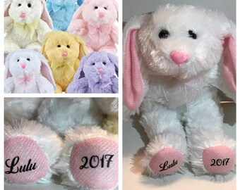 Customized Plush Bunny