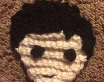 Sherlock patch chibi Sherlock head