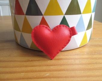 Mini red heart