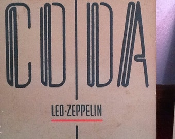 Led Zeppelin Record Album, 1982