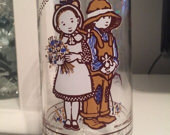 Holly Hobbie limited edition glass