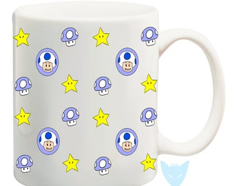 Toad Mug {Mario Bros.}