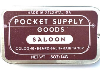 Saloon Multipurpose Solid Cologne