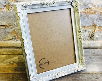 Ornate Distressed Picture Frame Shabby Chic Style