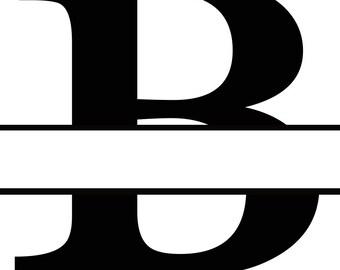 Letter B Monogram Cricut