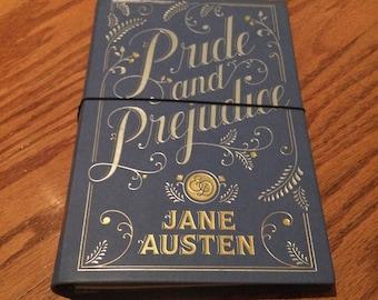 Pride and Prejudice Traveler's Notebook, refillable planner agenda cover