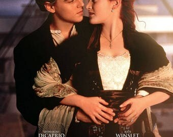 Titanic movie poster print : 11 x 17 inches (sunset) - Leonardo Dicaprio poster