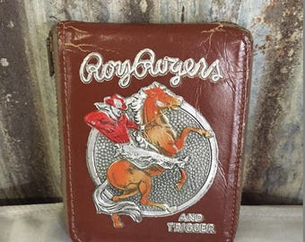 Roy Rogers with Trigger Wallet - Rare - Collectible - Vintage