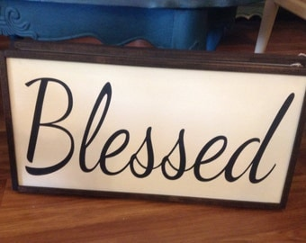 Blessed 1'x2'