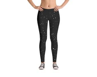 Black & White Constellations Leggings