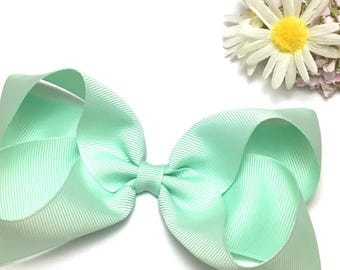 Boutique bow, large hair bow, big bows, baby headbands, dance bows