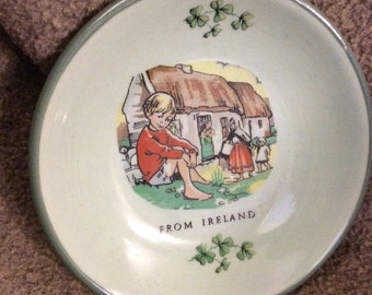 A Wee Irish Bowl From Carrigaline Pottery