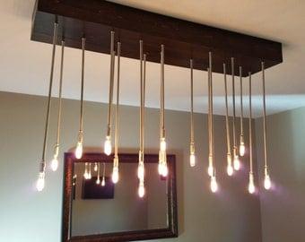 Handmade Industrial Dining Room Light